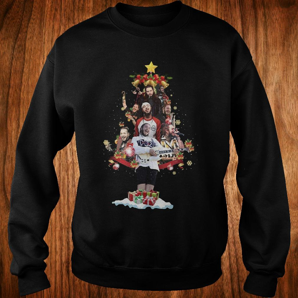 Malone Christmas tree sweatshirt