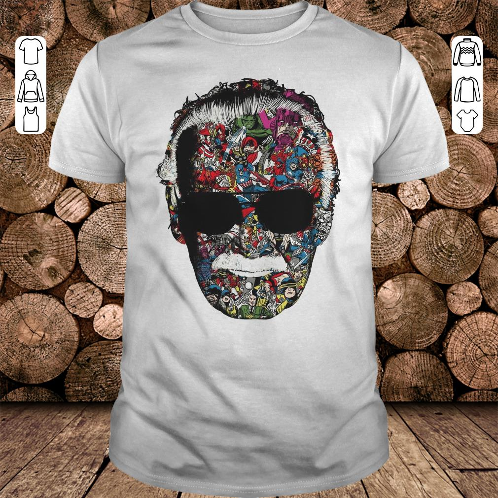 Man Of Many Faces Stan Lee shirt 1