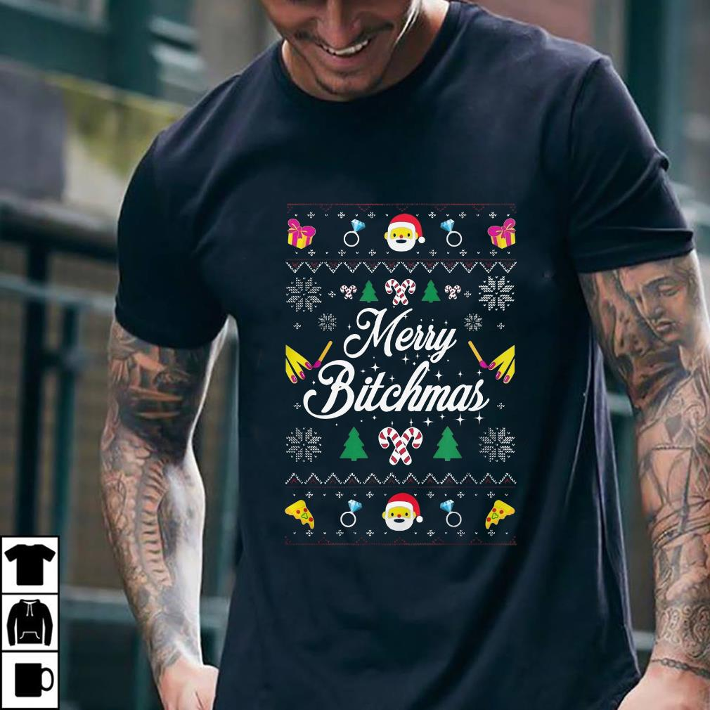 Merry Bitchmas Sweater shirt 2