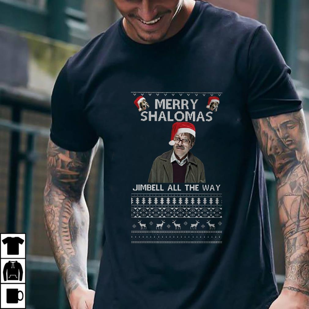 - Merry Shalomas Jimbell all the way sweater, shirt