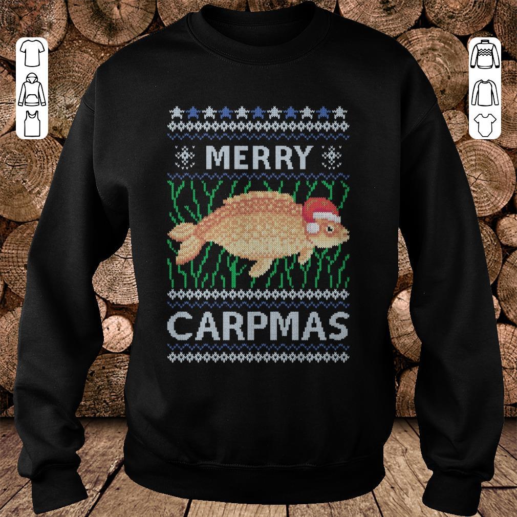 - Merry carpmas christmas sweater