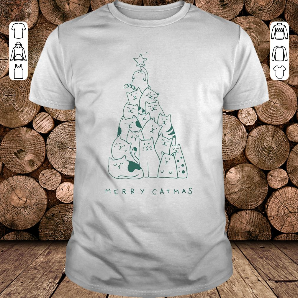 Merry catmas shirt 1