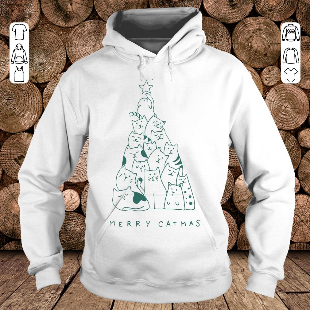Merry catmas shirt Hoodie