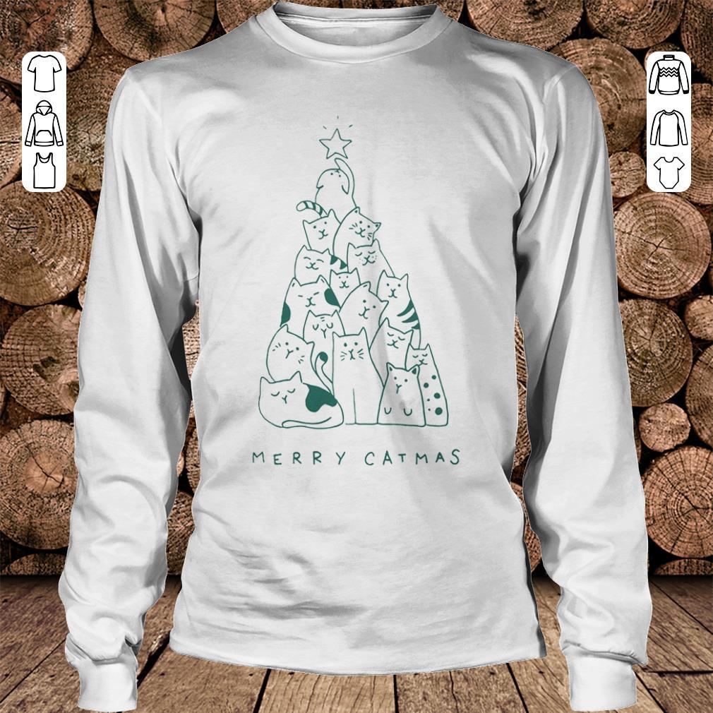 Merry catmas shirt Longsleeve Tee Unisex
