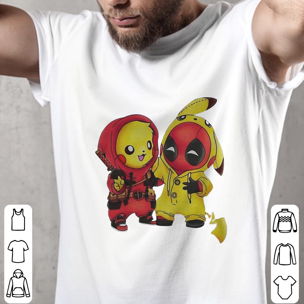 - Pikachu and Deadpool shirt