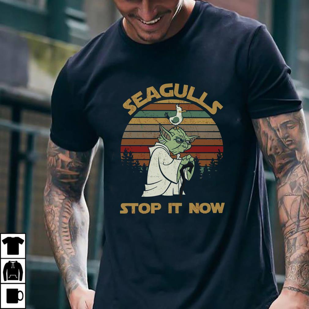 - Seagulls stop it now shirt