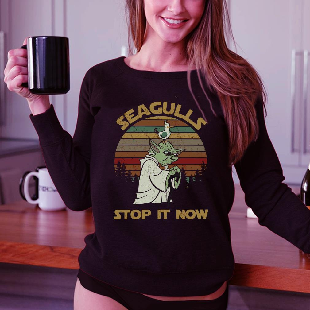 Seagulls stop it now shirt 3