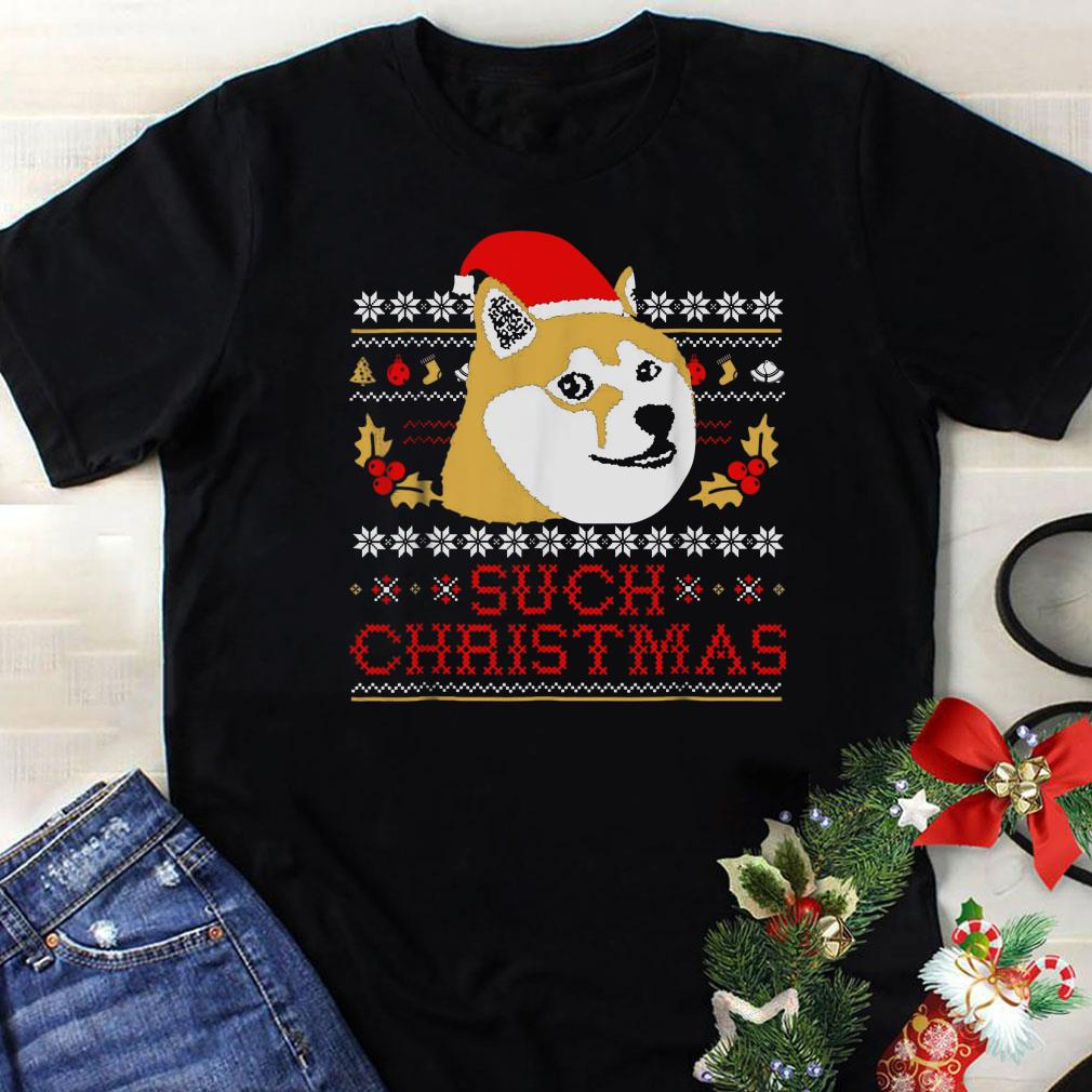 - Shiba Inu Such Christmas Sweater shirt