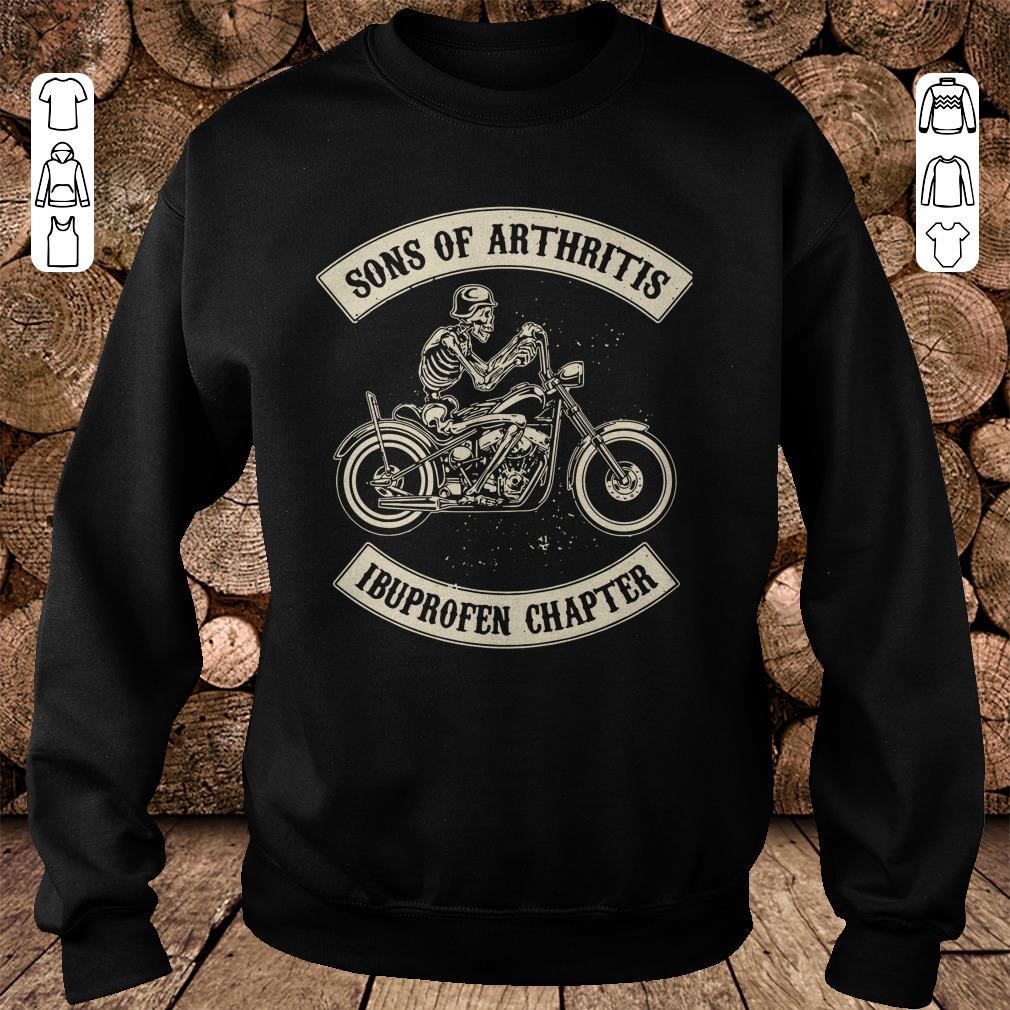 sons of arthritis ibuprofen chapter shirt sweater hoodie. Black Bedroom Furniture Sets. Home Design Ideas