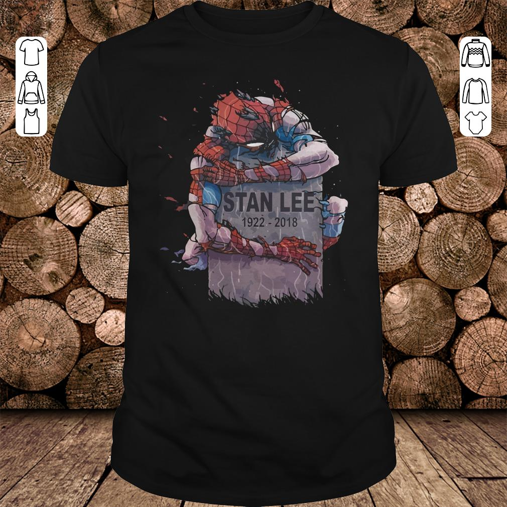 Spider Man hug Stan Lee Shirt