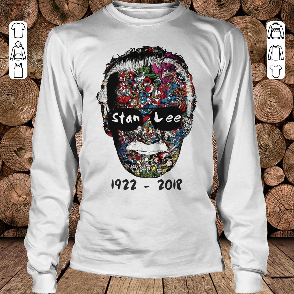 Stan Lee 1922 - 2018 Shirt Longsleeve Tee Unisex
