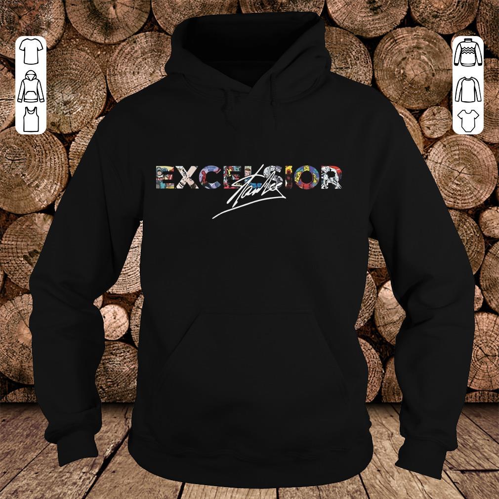 Stan Lee Excelsior Shirt Hoodie