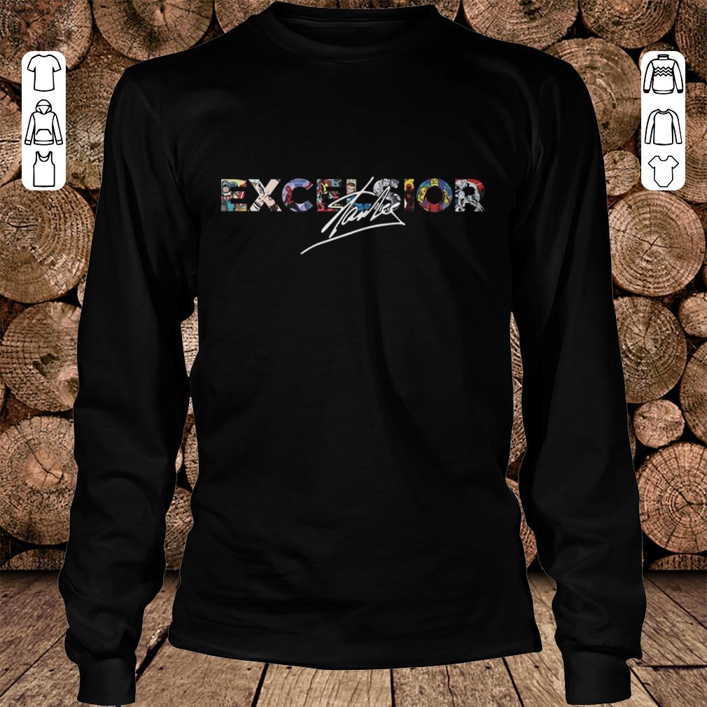 Stan Lee Excelsior Shirt Longsleeve Tee Unisex