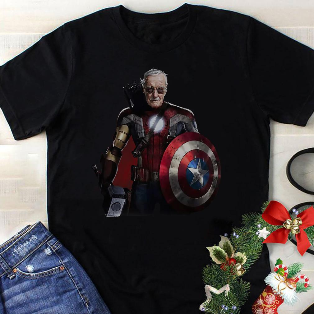 Stan Lee Superhero shirt