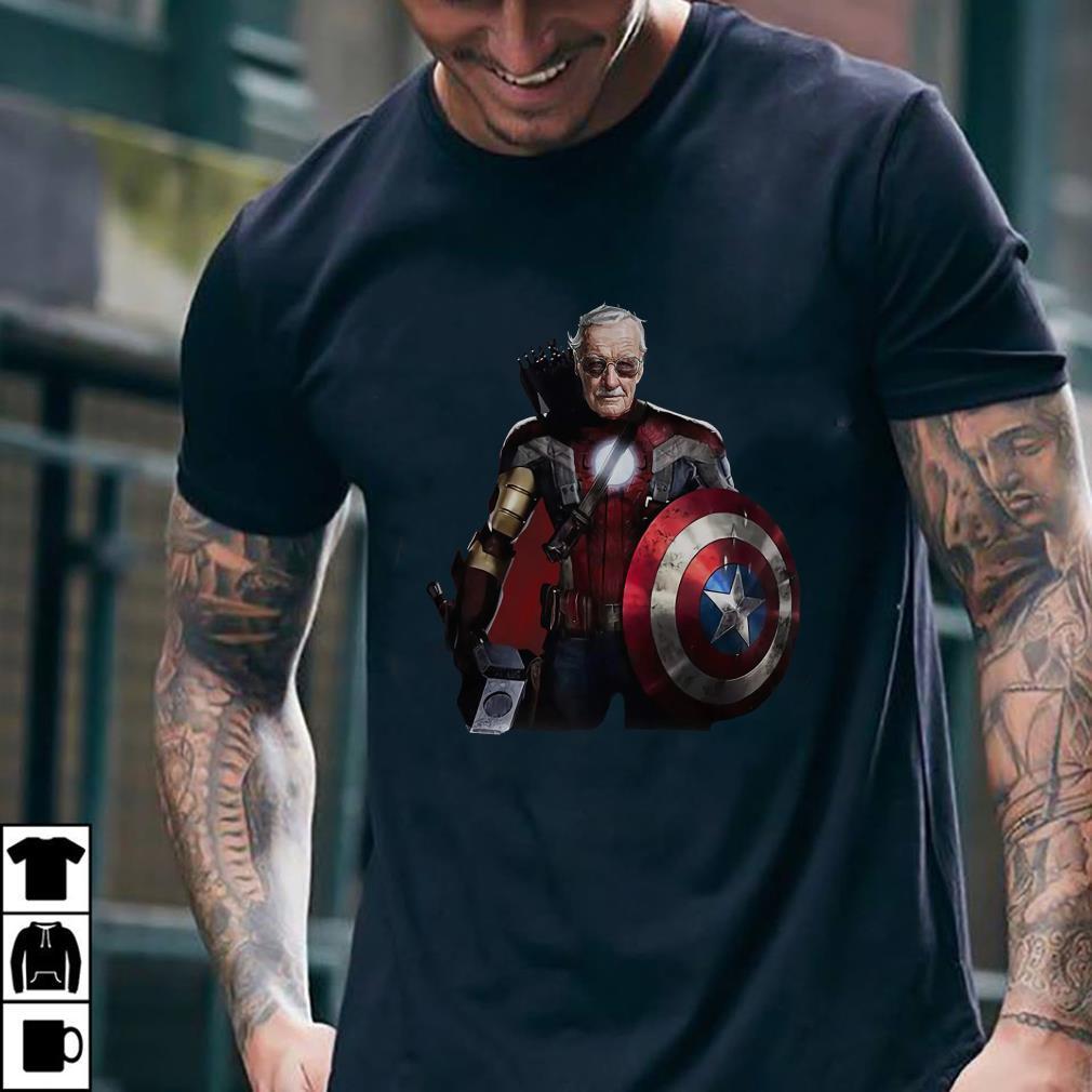 - Stan Lee Superhero shirt
