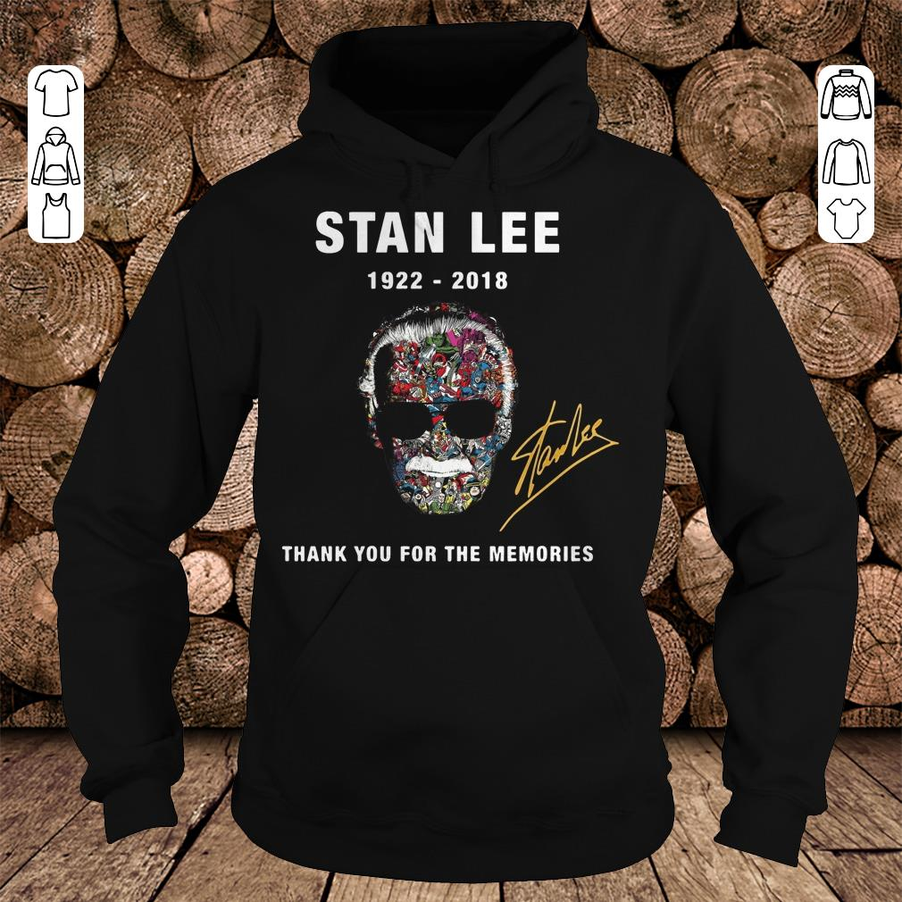 Stan Lee thank you for the memories Shirt Hoodie