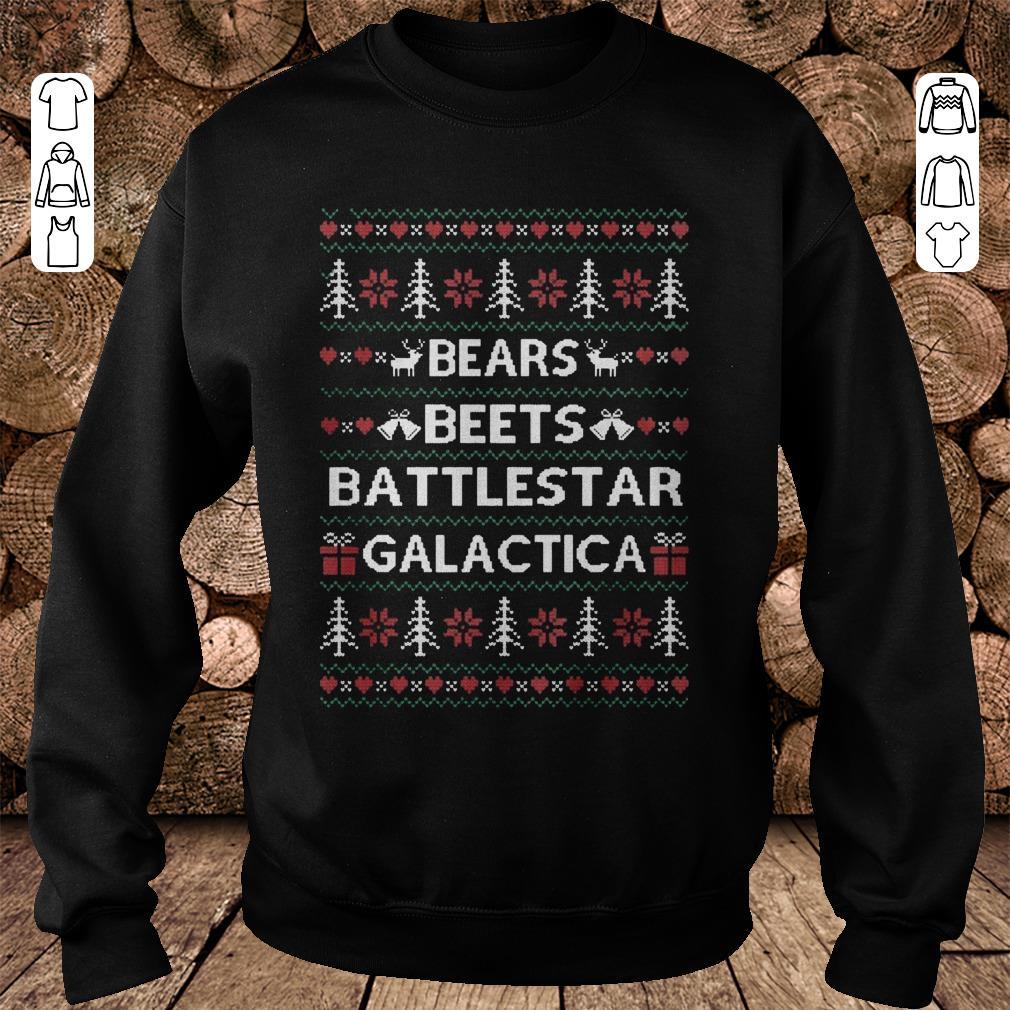 - The Office tv show Bears Beets Battlestar Galactica shirt