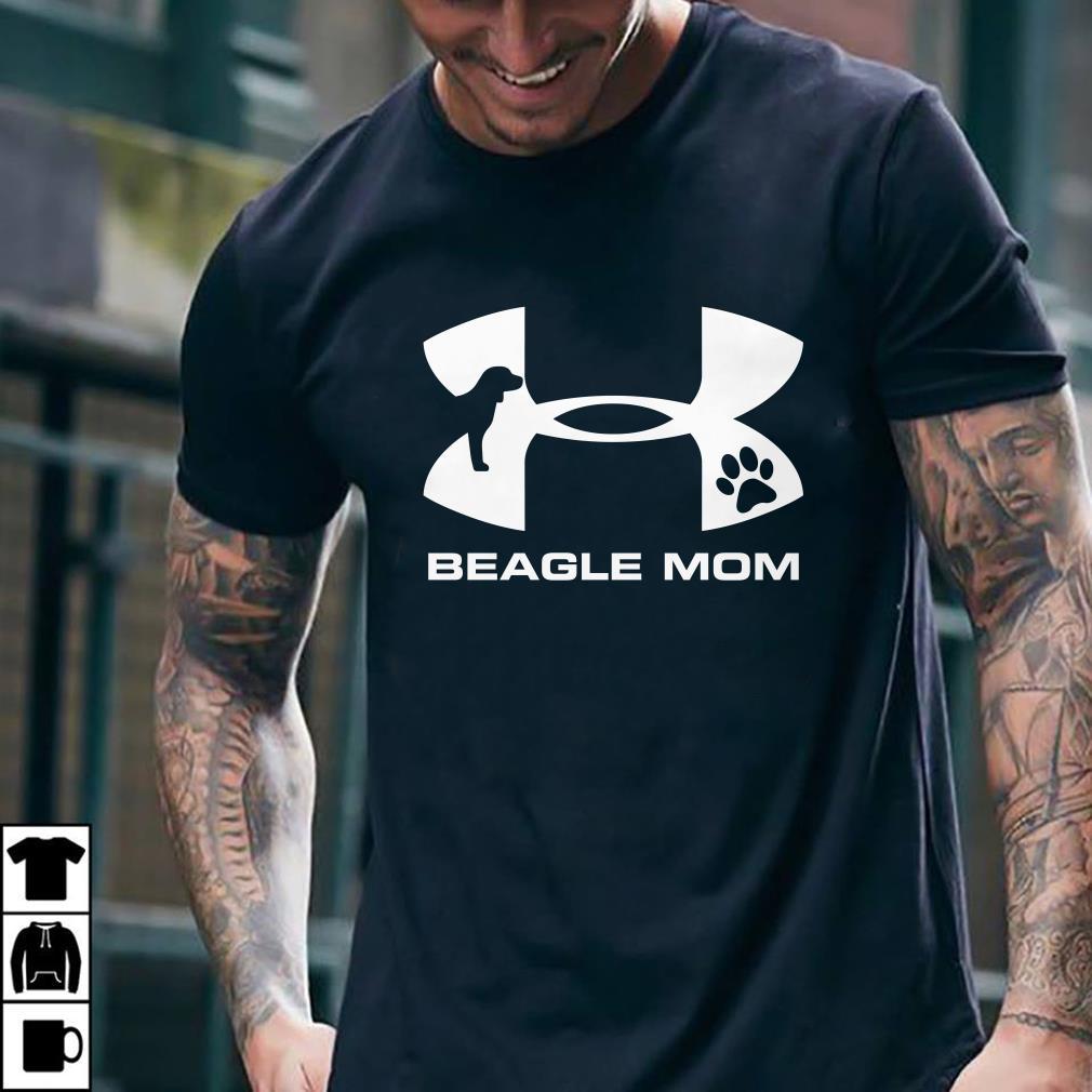 - Under Armour Beagle Mom shirt