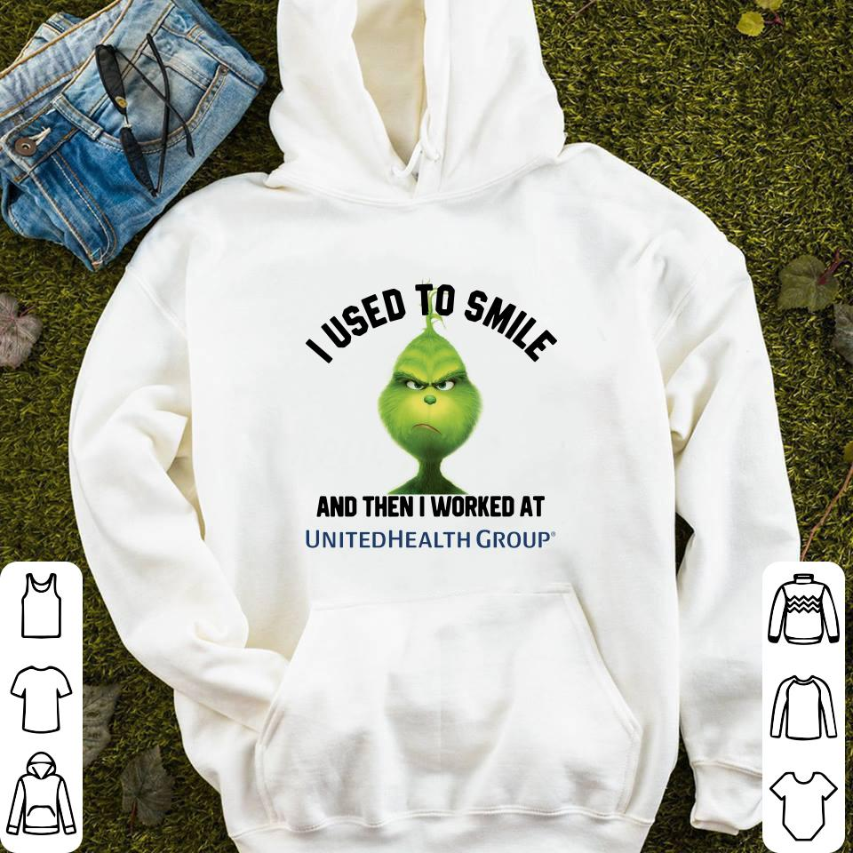 https://mypresidentshirt.com/images/2018/11/UnitedHealth-Group-Grinch-I-used-to-smile-and-then-I-worked-at-UnitedHealth-Group-shirt_4.jpg