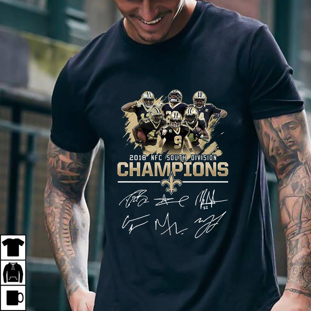 - 2018 NFC South Division Champions shirt