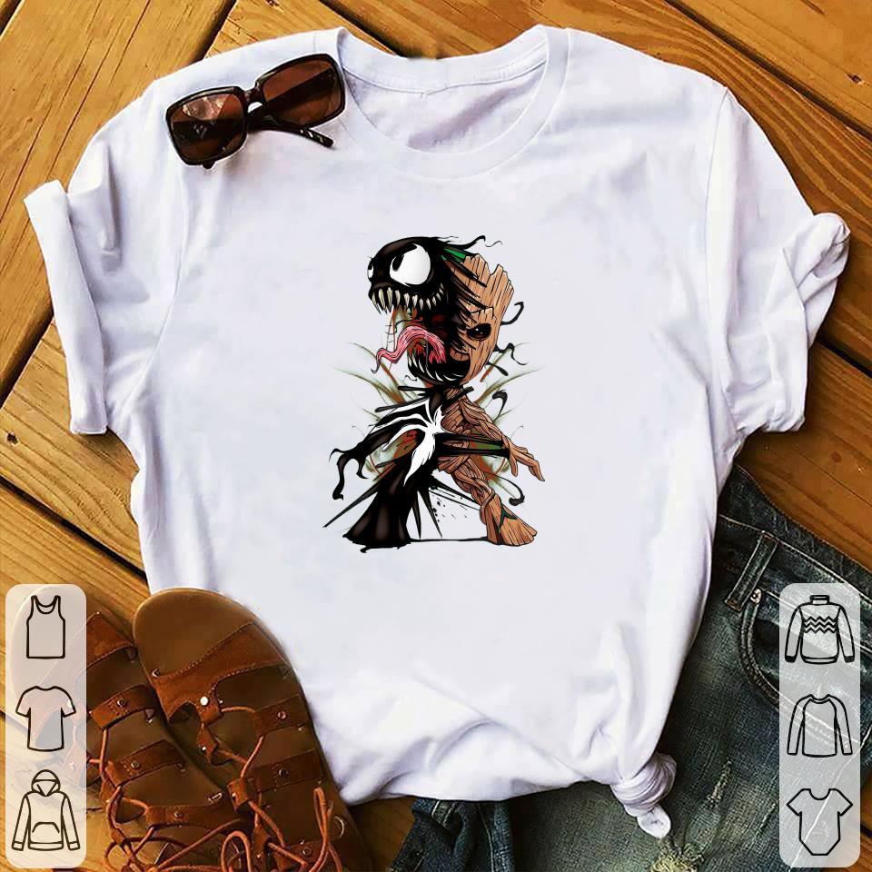 Baby Groot Venom Shirt Hoodie Sweater Longsleeve T Shirt