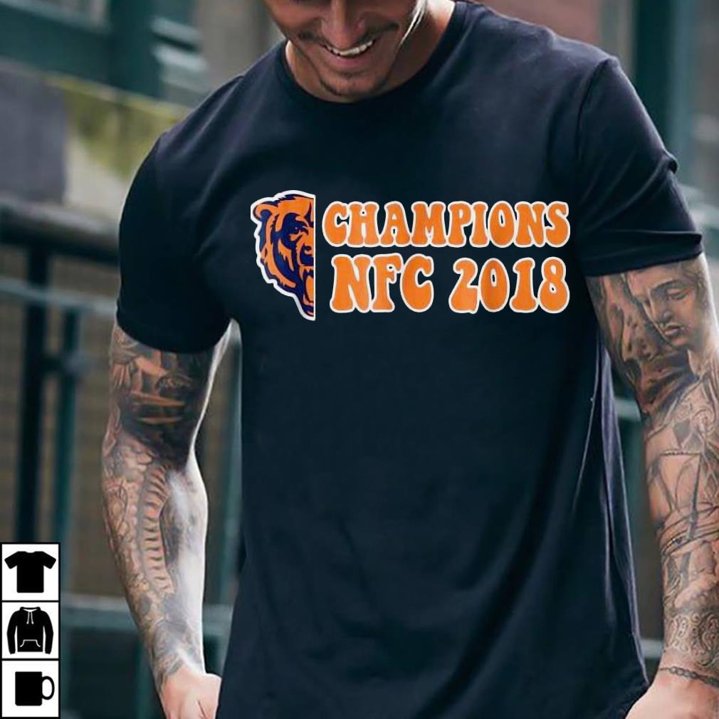 Bear champions NFC 2018 shirt 2