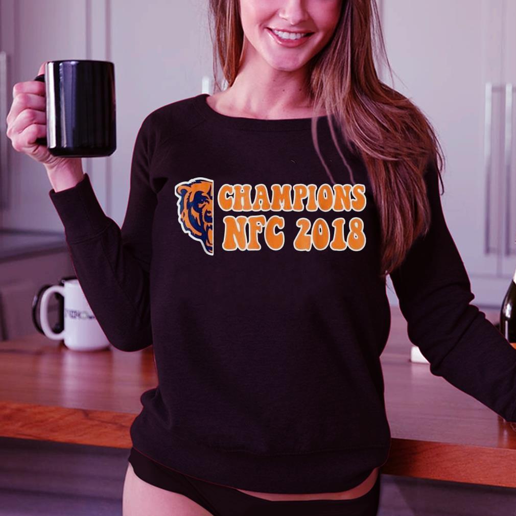 Bear champions NFC 2018 shirt 3