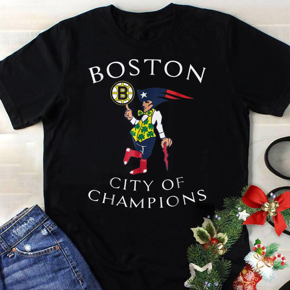 - Boston Sports Teams city of champions shirt