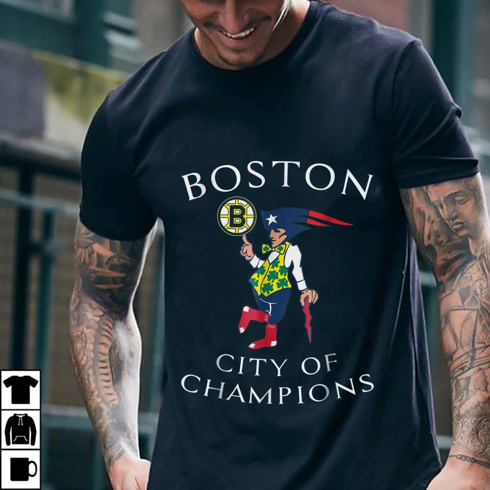 Boston Sports Teams city of champions shirt 2