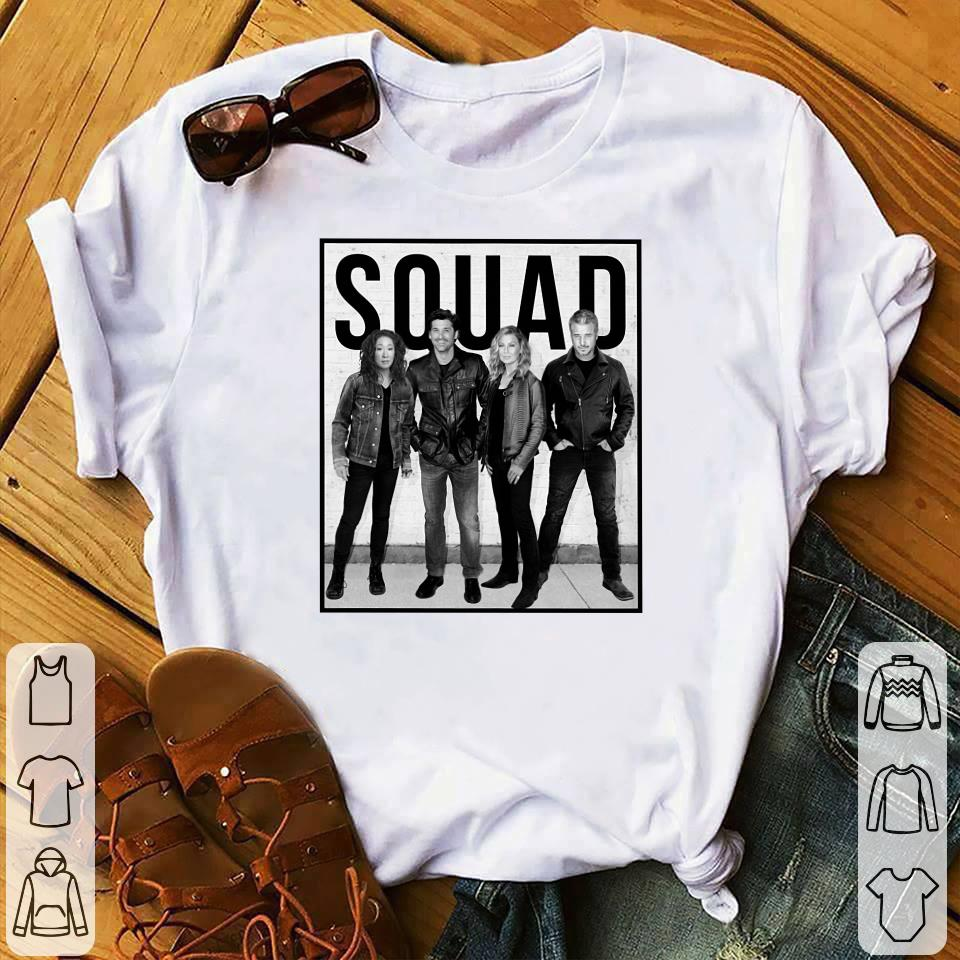 Callie Derek Meredith Alex Grey's Anatomy Squad shirt 1