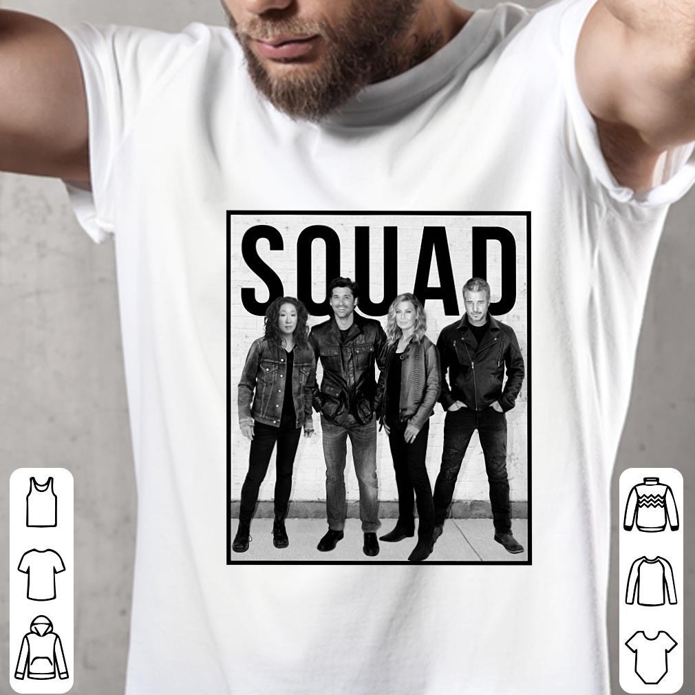 - Callie Derek Meredith Alex Grey's Anatomy Squad shirt