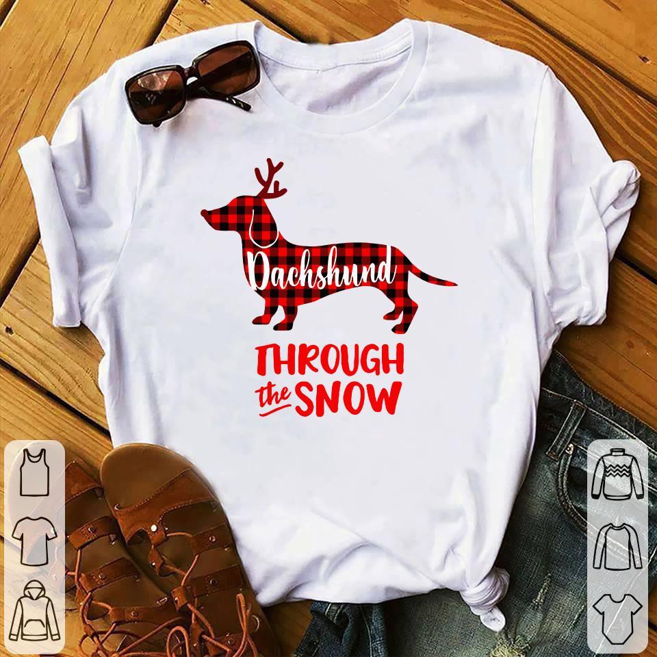 Dachshund through the snow shirt 1