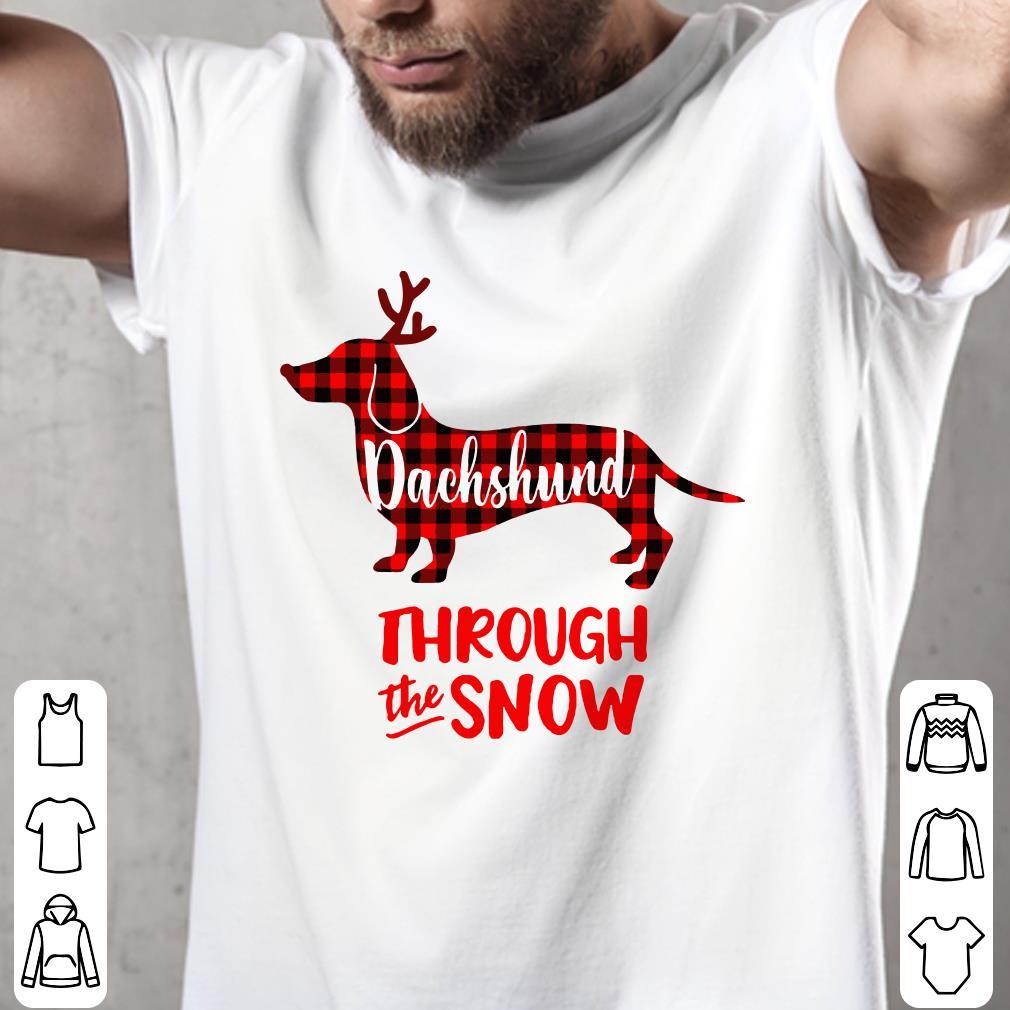 Dachshund through the snow shirt 2