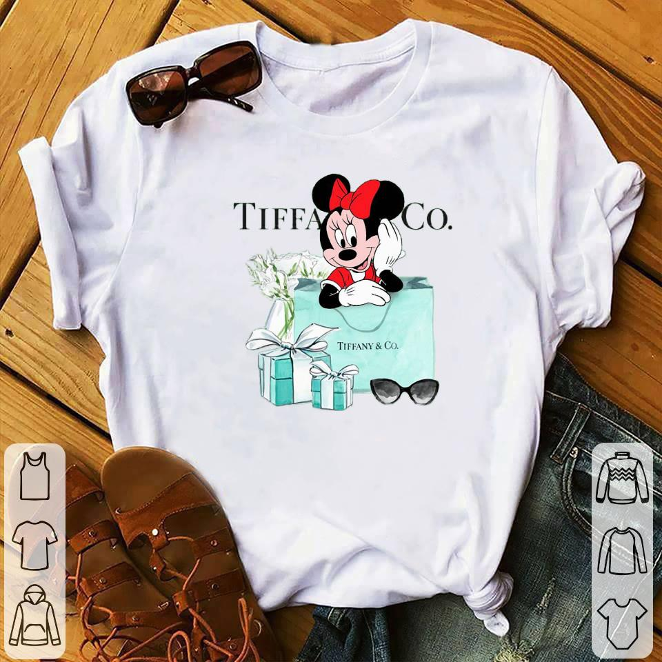 - Disney Minnie Mouse Tiffany & CO shirt