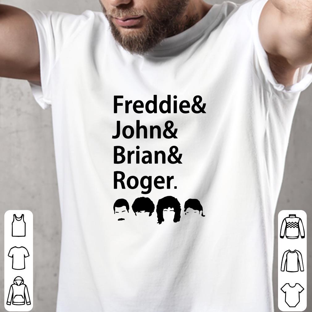 Freddies and John and Brian and Roger shirt 2
