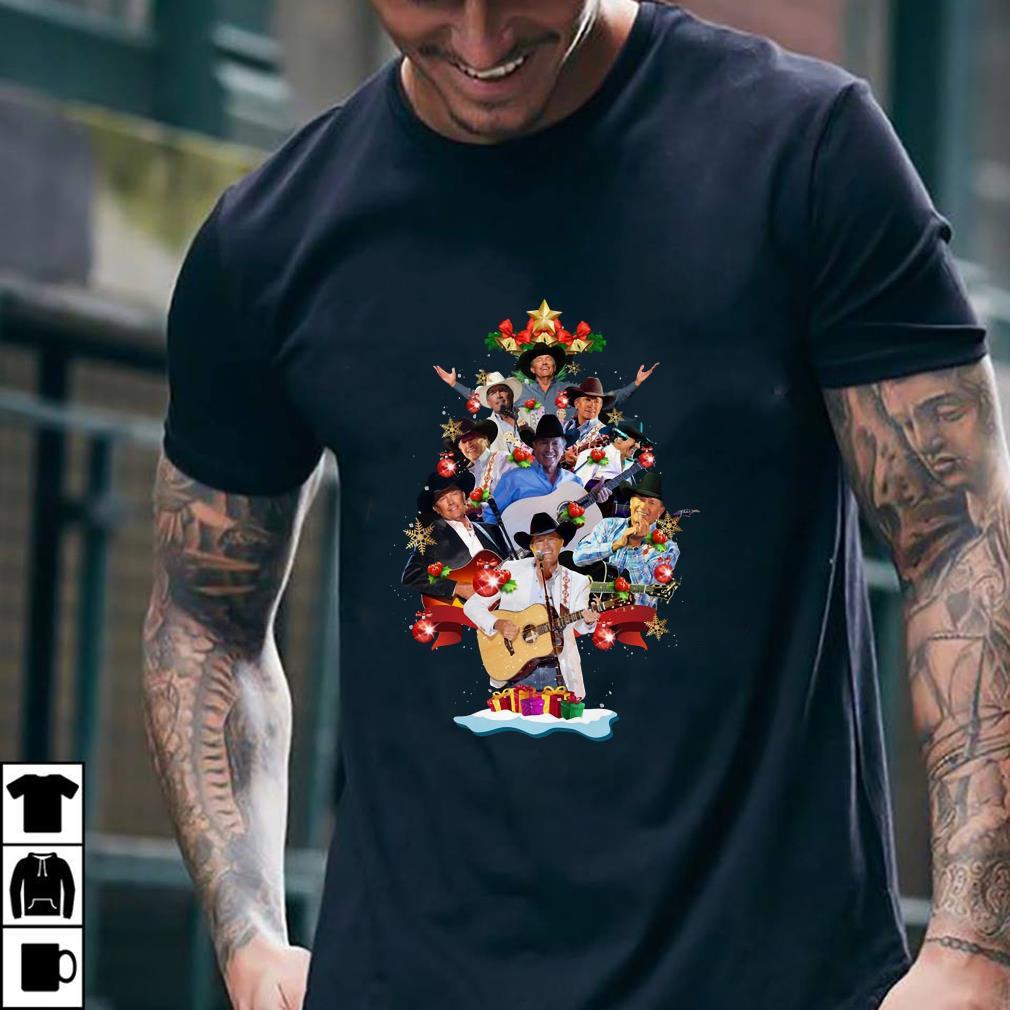 - George Strait Christmas Tree shirt