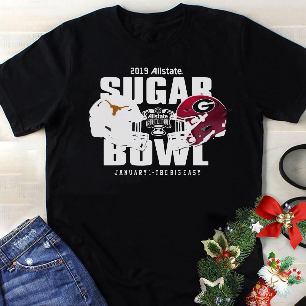 Georgia vs Texas Sugar Bowl shirt 1