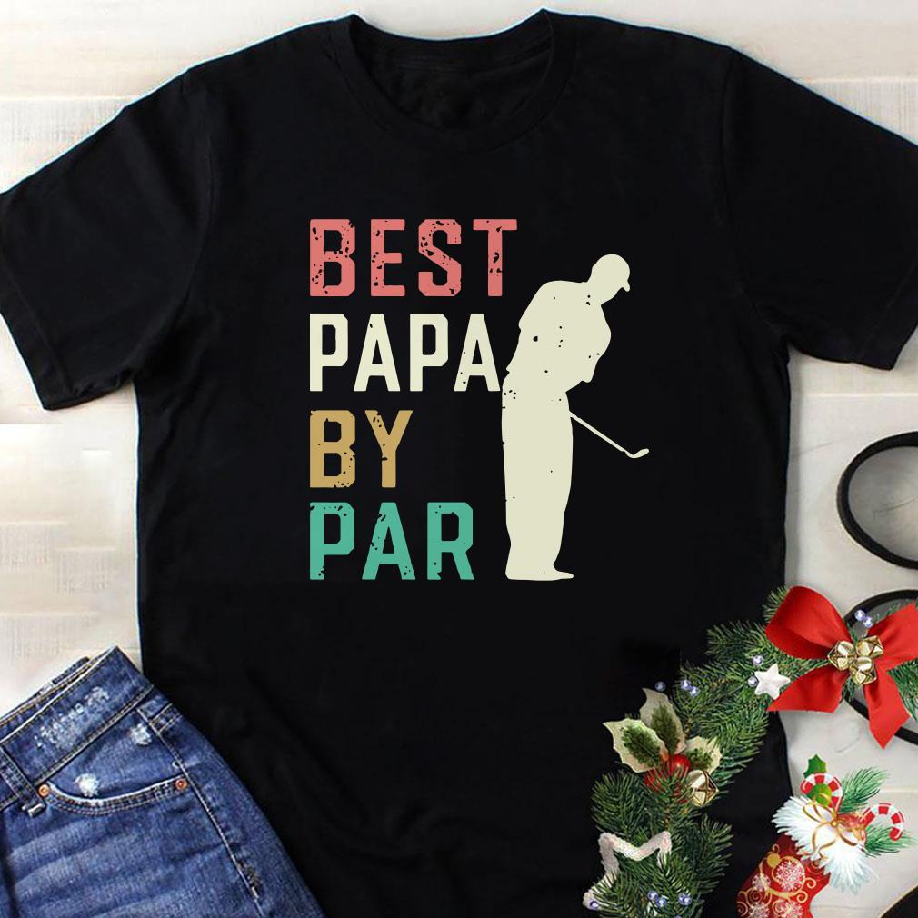 Golf Papa Best papa by par shirt 1