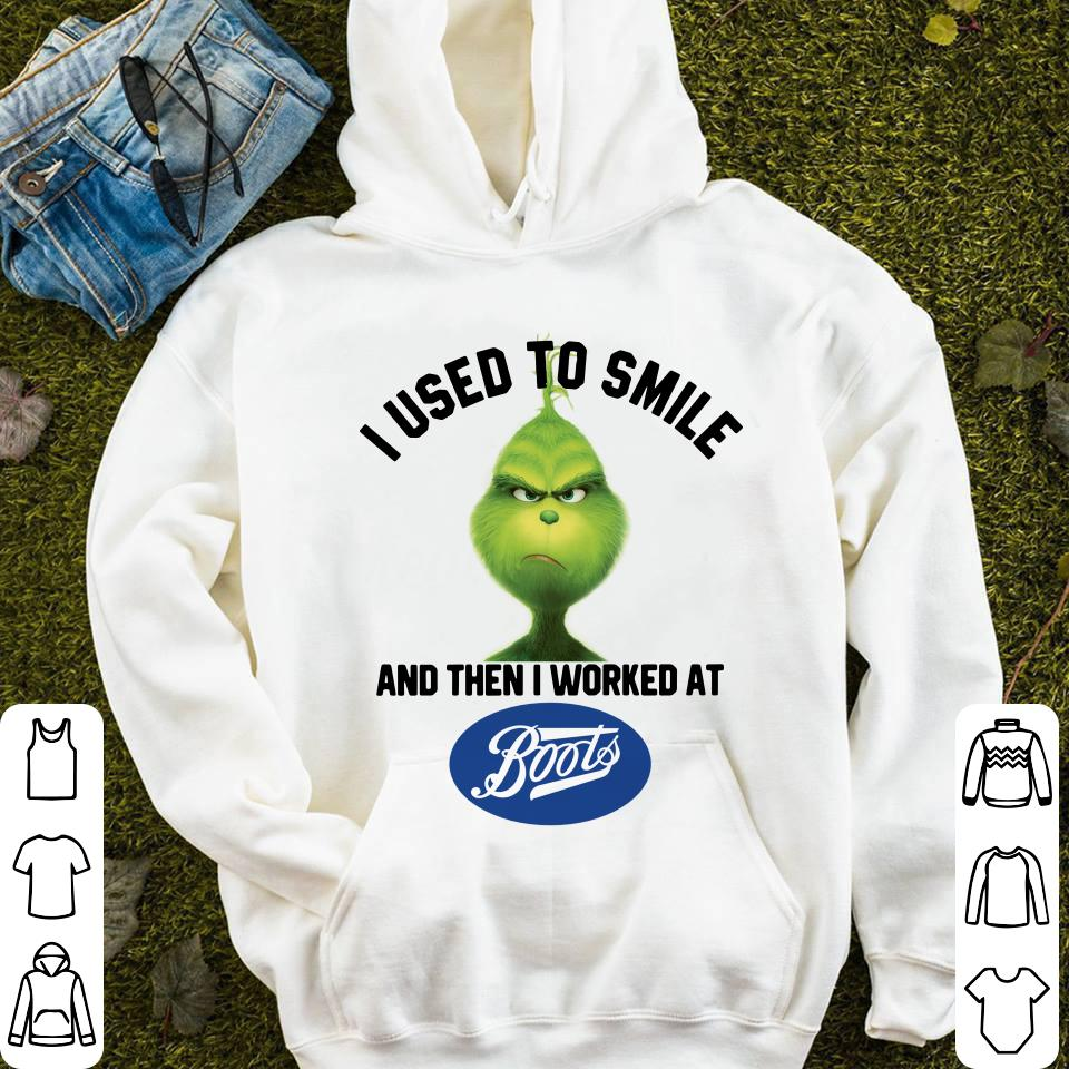 https://mypresidentshirt.com/images/2018/12/Grinch-I-used-to-smile-and-then-I-worked-at-Boots-shirt_4.jpg