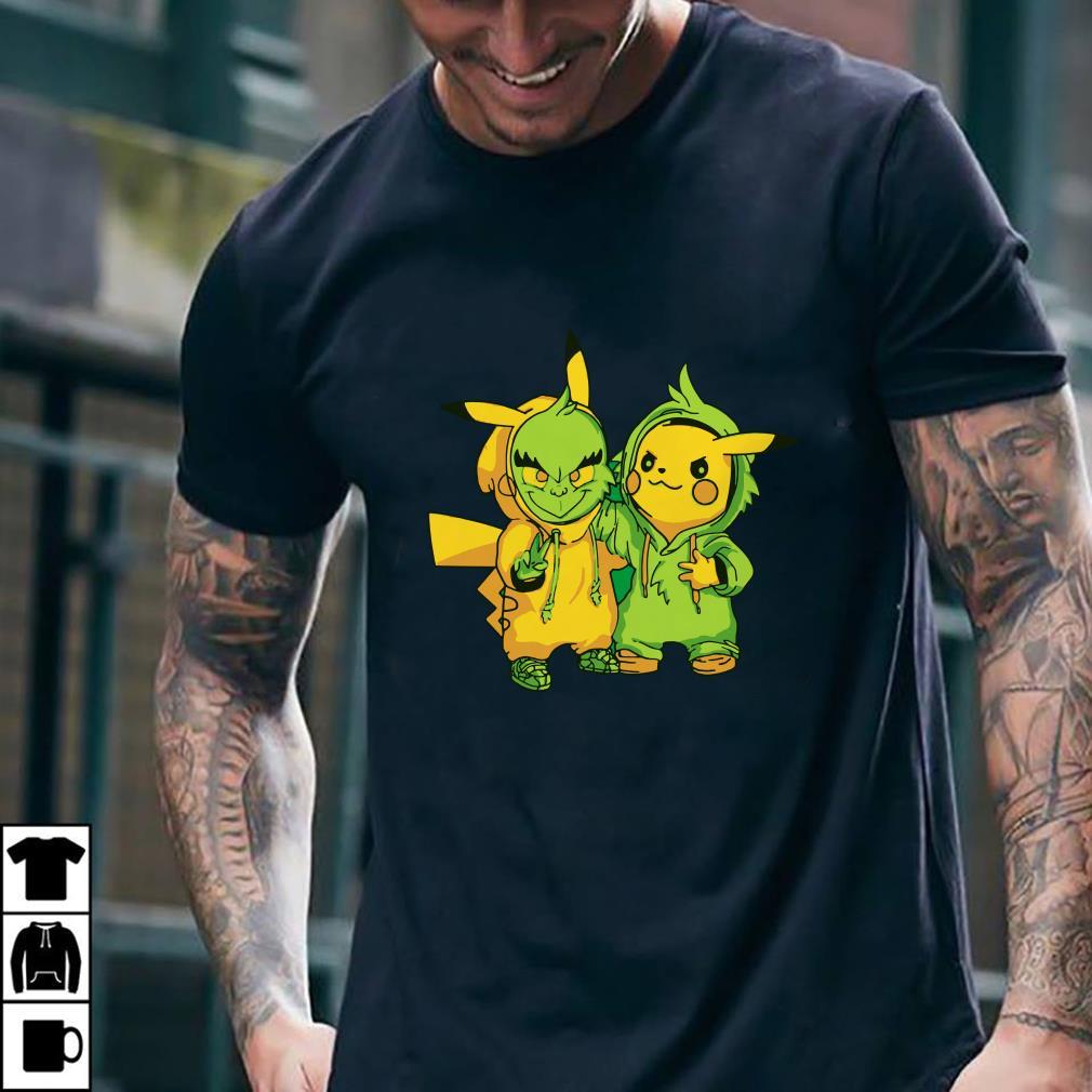 Grinch and Pikachu shirt 2