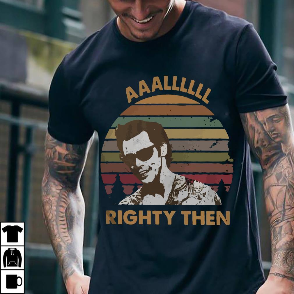 Ace Ventura Alright then vintage sunset shirt 2