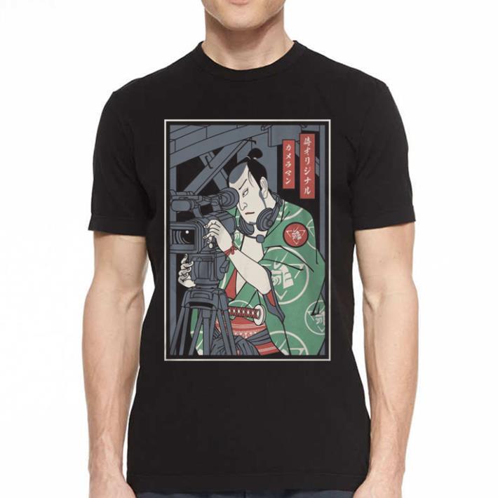 Cameraman Samurai shirt 2