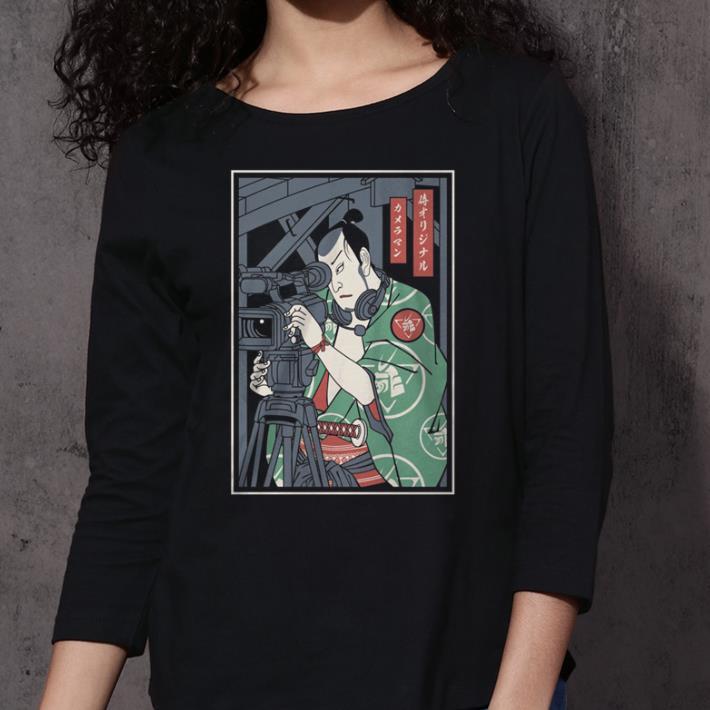 Cameraman Samurai shirt 3