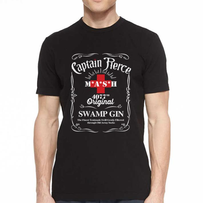 - Captain Pierce mash 4077 original swamp gin shirt