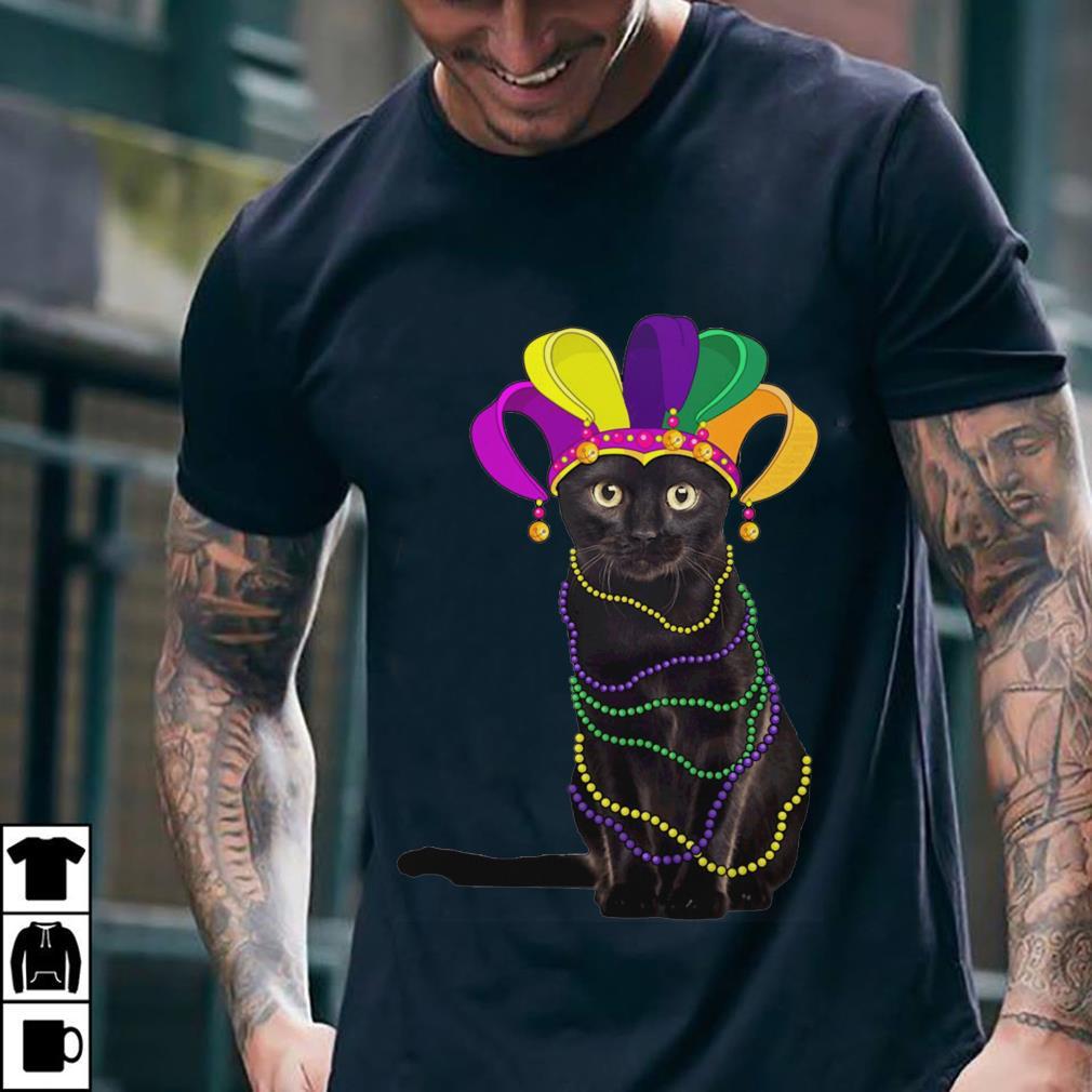 Cat Mardi Gras shirt 2