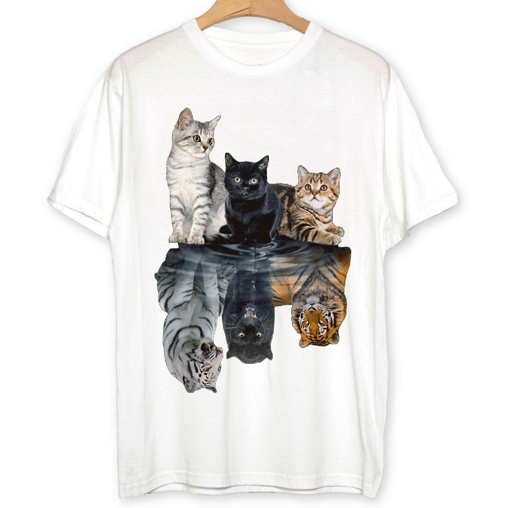 Cats shadow tigers shirt 1