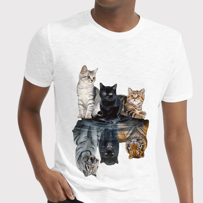 Cats shadow tigers shirt 2