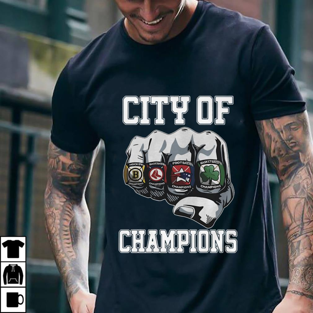 - City Of Champions Boston Sports Teams Citizen shirt