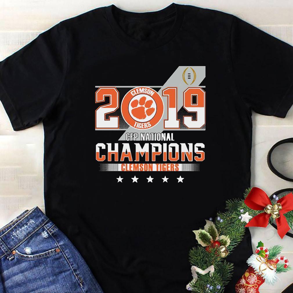 Clemson Tiger 2019 CFP national champions shirt 1