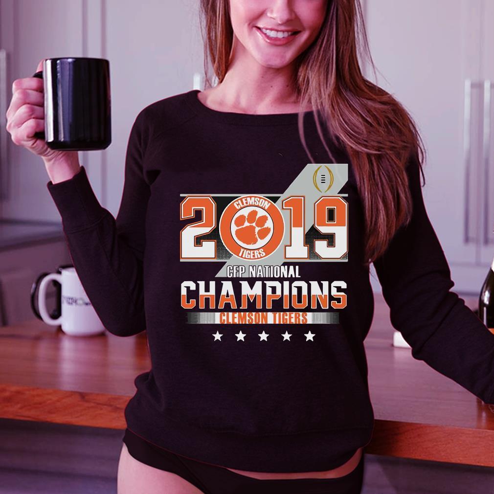 Clemson Tiger 2019 CFP national champions shirt 3